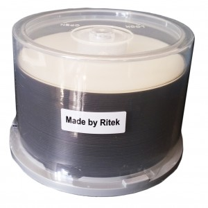 Blu-ray Disc 25gb RK Inkjet Printable White